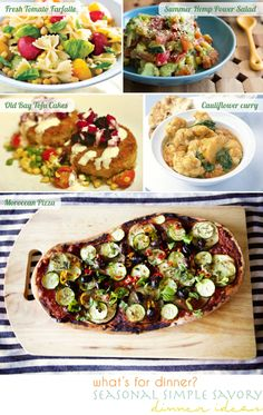 vegan dinner ideas from Going Home to Roost blog