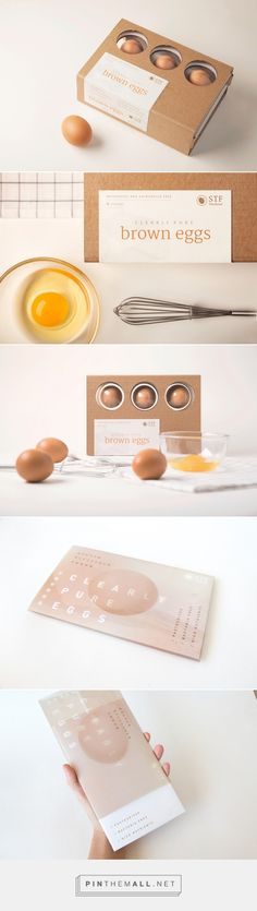 Clearly Pure - Egg Packaging Design by Emily Lau (Hong Kong) - http://www.packagingoftheworld.com/2016/06/clearly-pure-egg-packaging-student.html