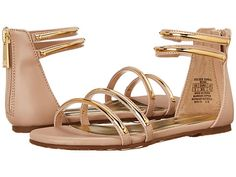 Ivanka Trump Kids Golden Sandal (Little Kid/Big Kid) Beige - Zappos.com Free Shipping BOTH Ways