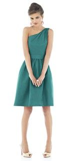Who doesn't love a solid teal dress?!