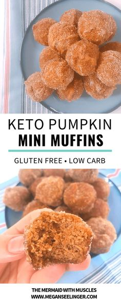 These easy Keto pumpkin spice almond flour muffin minis are an easy meal prep low carb breakfast option or a sugar-free dessert that fits perfectly on any Keto diet menu. Indulgent Keto Diet Friendly…More 15 Mouth Watering Low Carb Appetizers Ideas Sugar Free Desserts, Low Carb Desserts, Low Carb Recipes, Diet Recipes, Muffin Recipes, Sausage Recipes, Egg Recipes, Cream Recipes, Crockpot Recipes