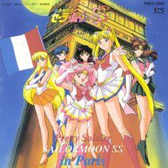 Bishoujo Senshi Sailor Moon SuperS in Paris (1995) cover