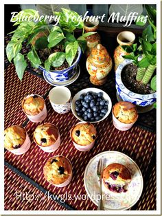 Another Breakfast Muffin In The List–Blueberry Yoghurt Muffins (炼乳酸奶蓝梅小松饼)#guaishushu #kenneth_goh   #blueberry_muffins  #blueberries_muffins #炼乳酸奶蓝梅小松饼  #蓝梅小松饼