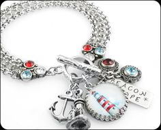 Hey, I found this really awesome Etsy listing at https://www.etsy.com/listing/199502561/nautical-jewelry-lighthouse-jewelry