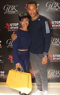 Grace Gealey & Trai Byers of 'Empire' at the GBK 2015 Pre-Oscar Awards Luxury Gift Lounge
