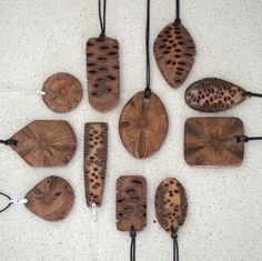 Browse unique items from ModsOnPods on Etsy, a global marketplace of handmade, vintage and creative goods. Wooden Earrings, Wooden Jewelry, Coconut Shell Crafts, Gourds, Wood Art, Pendants, Handmade, Creative, Wood Carving