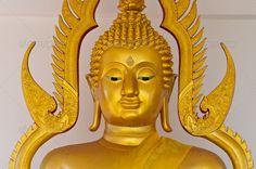 Buy golden buddha statue face close up by on PhotoDune. golden buddha statue face close up Golden Buddha Statue, Buddha Face, Buddhism, Glitters, Close Up, Lion Sculpture, Stock Photos, Art, Art Background