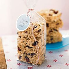 College care package - 12 healthy treats that are energizing and easy to ship in a college care package (from Cooking Light)
