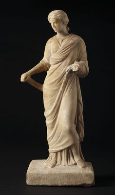 Bid in-person or online for the upcoming auction:Antiquities on 29 April 2019 at New York Renaissance, Sculpture Art, Sculptures, Female Heroines, Red Pigment, Living Statue, Hellenistic Period, Ancient Goddesses, 1st Century