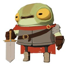 000 000 0000 - jeremyku: Little frog knight based on Beyx's...