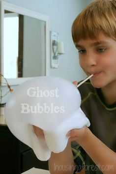 Giant DIY GAK bubbles ~ Simple play recipe  your kids will love! These look AMAZING! I need to get the ingredients to try this with my kids!