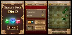Greate Dice Interface game ui | Create your own roleplaying game books w/ RPG Bard: www.rpgbard.com | Pathfinder PFRPG Dungeons and Dragons ADND DND OGL d20 OSR OSRIC Warhammer 40000 40k Fantasy Roleplay WFRP Star Wars Exalted World of Darkness Dragon Age Iron Kingdoms Fate Core System Savage Worlds Shadowrun Dungeon Crawl Classics DCC Call of Cthulhu CoC Basic Role Playing BRP Traveller Battletech The One Ring TOR fantasy science fiction horror