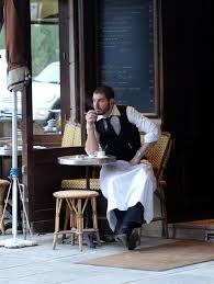 Image result for des gens assis dans les cafés à Paris