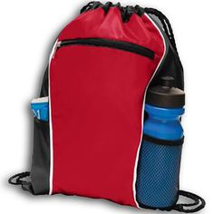 A good quality bag is the basic requirement in any sports or fitness activities. Personal Fitness, Fitness Activities, True Red, Gym Bag, Packing, Take That, Zipper, Sports, Bags