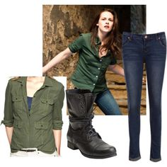 A fashion look from November 2012 featuring Gap and Steve Madden ankle booties. Browse and shop related looks. Oufits Casual, Casual Fall Outfits, Winter Outfits, Cute Outfits, Spring Outfits, Twilight Outfits, Fashion Bella, Bella Swan, Fandom Fashion