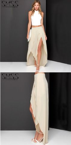 Nos encantan las faldas #largas ¿Qué les parece esta #falda larga? Encuentrala en nuestro sitio.