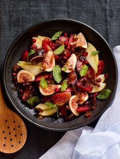 Check out this refreshing Israeli fruit salad. A perfect combination of Israeli fruits and summer fruits, will make this your new fave dessert!
