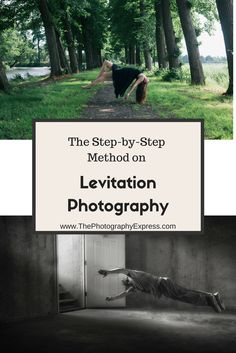 The Step by Step method on Levitation Photography! www.ThePhotographyExpress.com