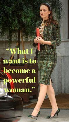 One of the main rules Blair Waldorf Blair Quotes, Blair Waldorf Quotes, Blair Waldorf Outfits, Blair Waldorf Gossip Girl, Blair Waldorf Style, Gossip Girl Blair, Boss Lady, Girl Boss, Gossip Girl Quotes