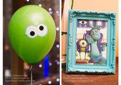 """Baiciurina Olga's Design Room: День Рождения ЕВЫ в стиле """"Корпорация Монстров""""-""""Monsters University"""" birthday party!"""