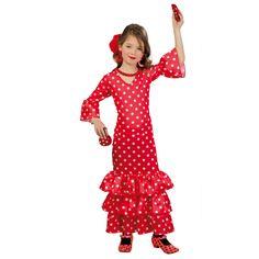 disfraz de andaluza roja disfraces carnaval novedades