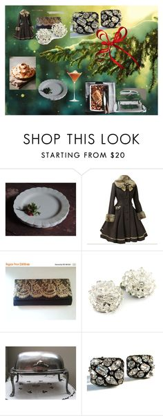 Black Friday Celebrate....Vintage vogue Team! by used2bnewvintage on Polyvore featuring interior, interiors, interior design, home, home decor, interior decorating, MACBETH and vintage
