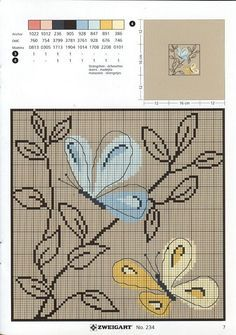 butterflies and simple plant cross stitch Butterfly Cross Stitch, Cross Stitch Rose, Cross Stitch Animals, Cross Stitch Flowers, Modern Cross Stitch, Cross Stitch Designs, Cross Stitch Patterns, Cross Stitch Boards, Cross Stitch Pillow