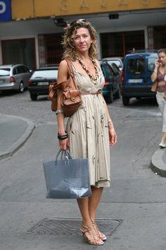 On the Street….Via Turati, Milan « The Sartorialist Scott Schuman, Margaret Howell, Sartorialist, Street Photo, Milan, Street Style, India, Summer Dresses, Chic