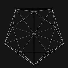 Rotation of faces of the ICOSAHEDRON (wire-frame, perspective projection, full-res)