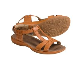 Keen Emerald City Sandals - Leather (For Women) in Rust