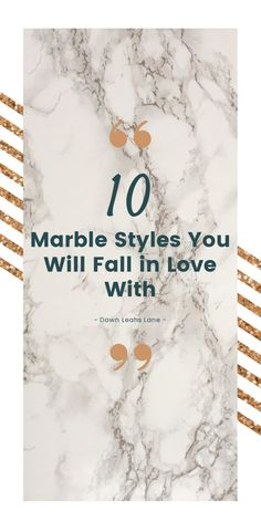 10 Marble Styles You Will Fall in Love With - Down Leah's Lane 10 Marble styes you will fall in love with! Here's a post showing how marble countertops can be used to create different designs and styles for your home. Farmhouse Style Kitchen, Modern Farmhouse Kitchens, Vintage Farmhouse, Craftsman Kitchen, Calacatta Gold Marble, Carrara Marble Countertop, Farmhouse Light Fixtures, Farmhouse Lighting, Fantasy Brown