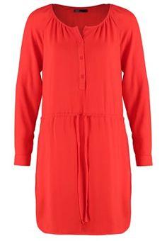 Blusenkleid - hot red