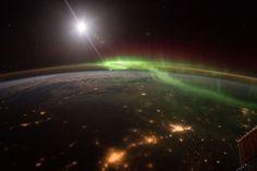 La NASA vient de publier de magnifiques photographies prises de l'espace par l'astronaute Scott Kelly | Buzzly