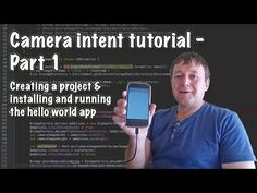cool How to create an android camera using intents - Part 1 Android Camera, App Development, Create, Youtube, Youtubers, Youtube Movies