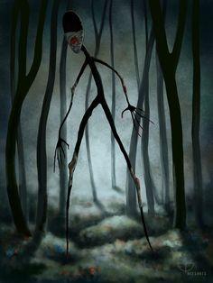 """Shhh, it's just a tree..."""