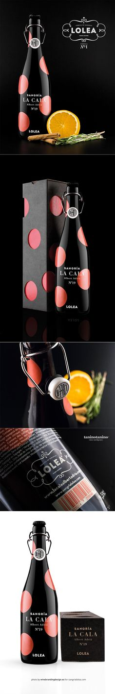 Sangria Lolea La Cala Packaging by Estudio Versus | Fivestar Branding – Design and Branding Agency & Inspiration Gallery