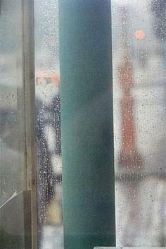 Saul Leiter: 'Green Pole', 1950.