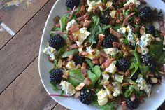 salade met bramen en blauwe kaas - Mijn kookavonturen