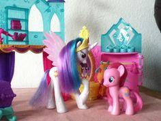 My Little Pony dolls: Princess Celestia & Pinkie Pie