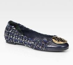 Scarpe Tory Burch, ballerine Serena - Dalla collezione autunno inverno 2012-2013 di scarpe Tory Burch, le ballerine Serena.
