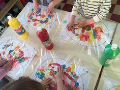 Mixed – Ilknur Cigdem Demirel – ich folge - New Site Easter Activities, Toddler Activities, Preschool Activities, Toddler Art, Toddler Crafts, Easter Crafts For Kids, Diy For Kids, Easter Art, Spring Crafts