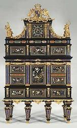 Antique Badminton Cabinet, the most expensive piece of furniture ever sold was commissioned by Henry Somerset, the Duke of Beaufort. In July the Badminton Cabinet was sold by Christie's for 15 million dollars Somerset, Antique Furniture, Painted Furniture, Home Furniture, Oriental Furniture, Victorian Furniture, French Furniture, Classic Furniture, Furniture Styles