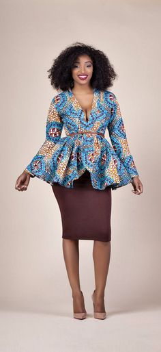 30 Stylish Ankara Styles to Try Right Now. If you are searching for some of the hottest styles this season, you need to read this article to discover some of the most stunning Ankara dresses, skirts, tops, and pants. African Fashion Ankara, Ghanaian Fashion, African Print Dresses, African Print Fashion, African Dress, Nigerian Fashion, African Prints, African Patterns, African Tops