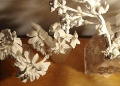 DIY Plaster Flowers