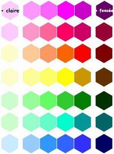 """Résultat de recherche d'images pour """"nuance des couleurs"""""""
