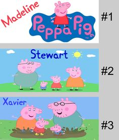 Personalised Childrens PEPPA PIG Plastic unbreakable mug/ cup or ceramic w/ name in Collectables, Homeware, Kitchenware, Mugs | eBay