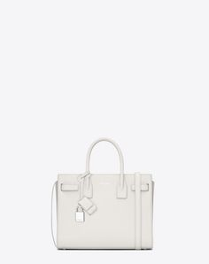 classic baby sac de jour bag in dove white grained leather 91a4ff04ab68e