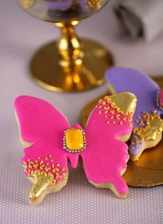 Amazing jeweled cookies.