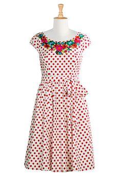 Kenya dress from eShakti