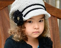 Crochet PATTERN Chloe Slouchy Girls Crochet by PrettyDarnAdorable
